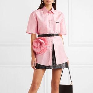 Miu Miu Silk Taffeta Shirt